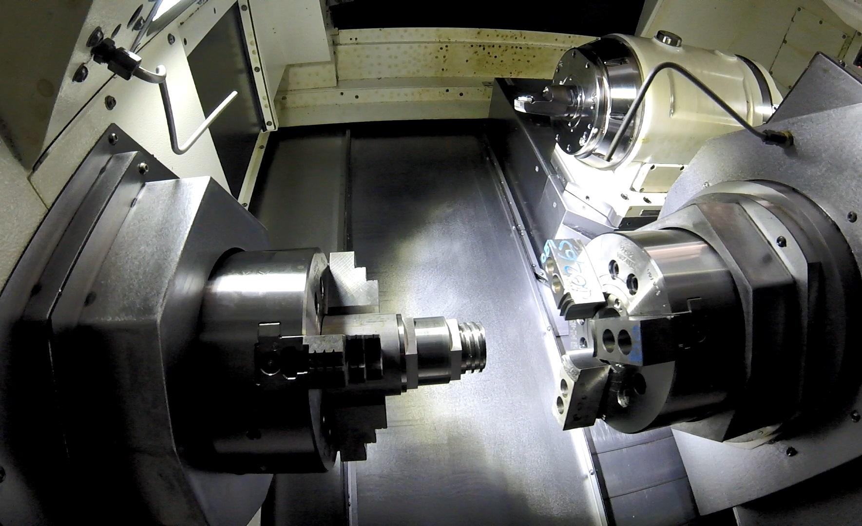 SolidCAM токарно-фрезерная обработка