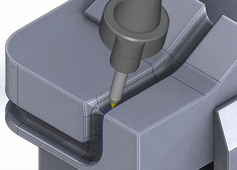 SolidCAM 5-ти координатная обработка 6
